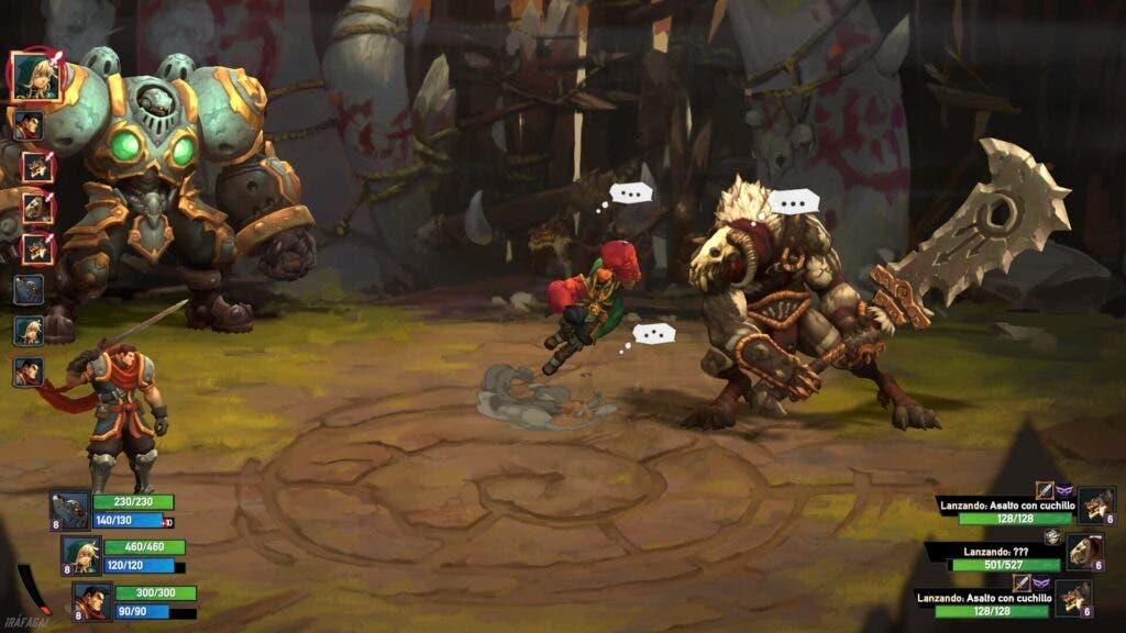 Análisis de Battle Chasers: Nightwar - Xbox One 2