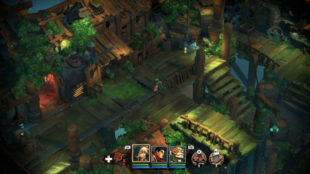 Análisis de Battle Chasers: Nightwar - Xbox One 3