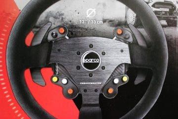 Así es el volante de rallyes Sparco R383 para el ecosistema de Thrustmaster 17