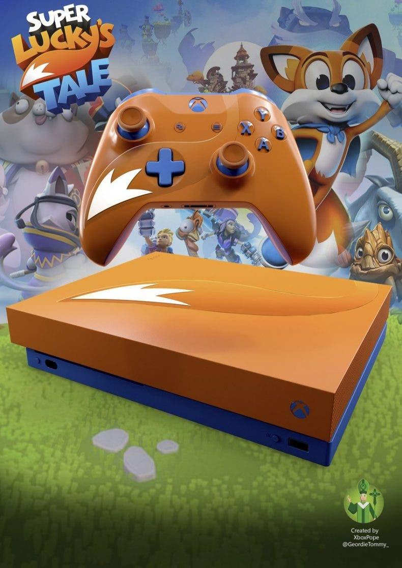 Impresionantes diseños de Xbox One X basados en videojuegos 1
