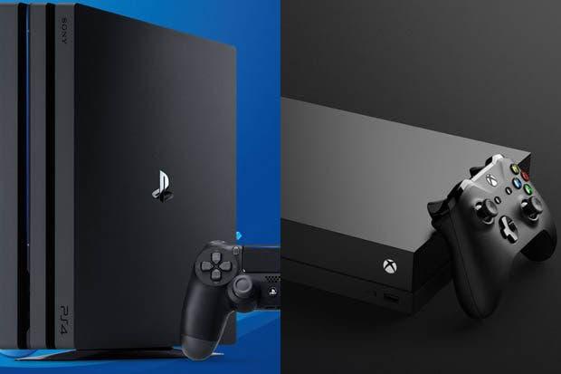 Microsoft desconocía la existencia de PS4 Pro al idear Xbox One X 1