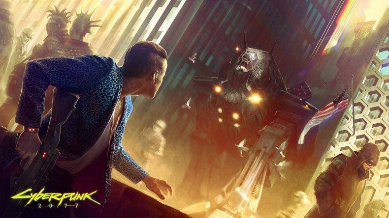 Cyberpunk 2077 también vería la luz en la próxima Xbox 1