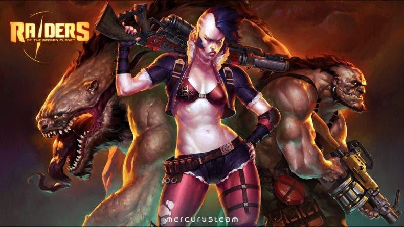Raiders of the Broken Planet presenta su nueva campaña, Furia Wardog 1