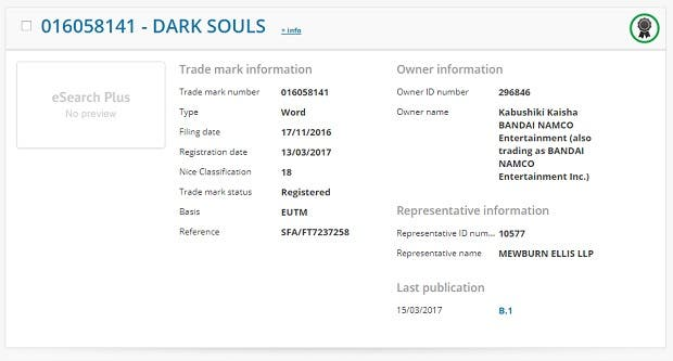 Bandai Namco registers a possibly new Dark Souls game in Europe 2