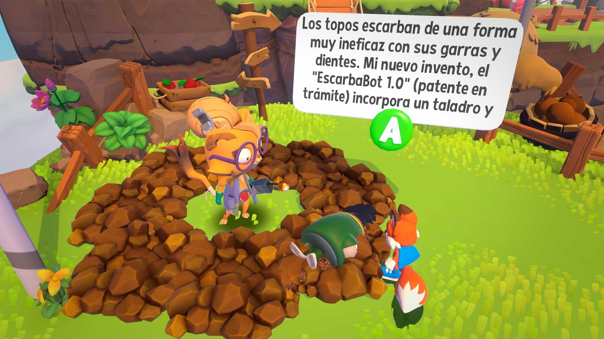 Análisis de Super Lucky's Tale - Xbox One X 3