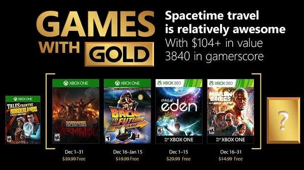 Estos son los Games With Gold de diciembre para Xbox One y 360 2