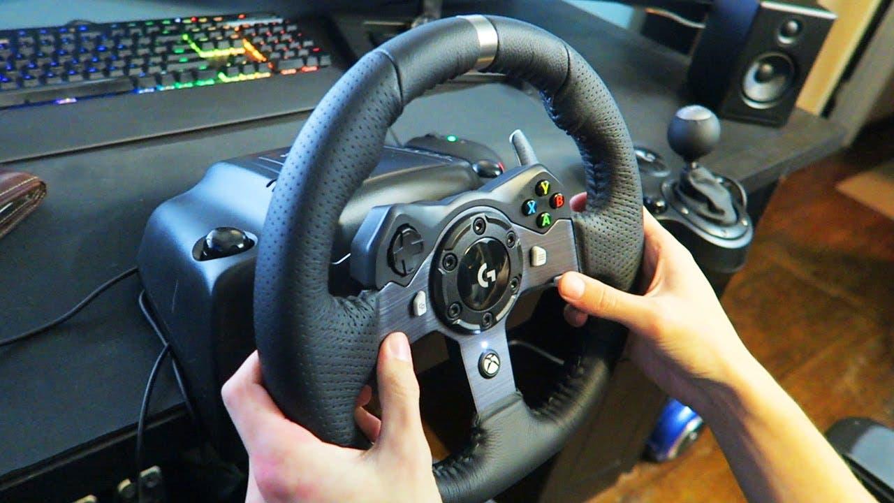 Aprovecha esta oferta en el volante Logitech G920 para Xbox One y PC