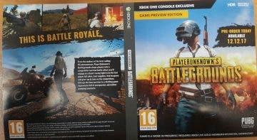 Ya conocemos la caratula de Playerunknown's Battlegrounds en Xbox One 10