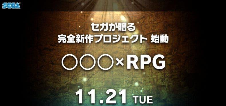 Sega presentará mañana un nuevo J-RPG 1