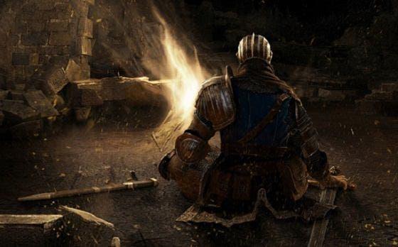 Este mapa de Dark Souls nos enseña los puntos críticos del juego 1