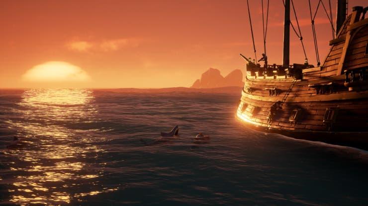 Comparativa de Sea of Thieves entre Xbox One y PC 1