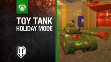 Tanques de juguete en el evento navideño de World of Tanks 8