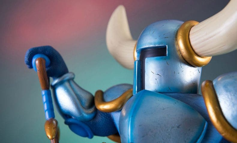Petrificados os dejará esta figura de Shovel Knight sin casco 1