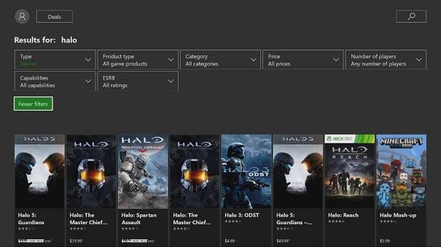 Ya Podemos Filtrar Juegos Por Precio Y Valoracion En Xbox One