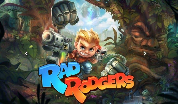 Rad Rodgers, acción y plataformas noventeras para Xbox One 1