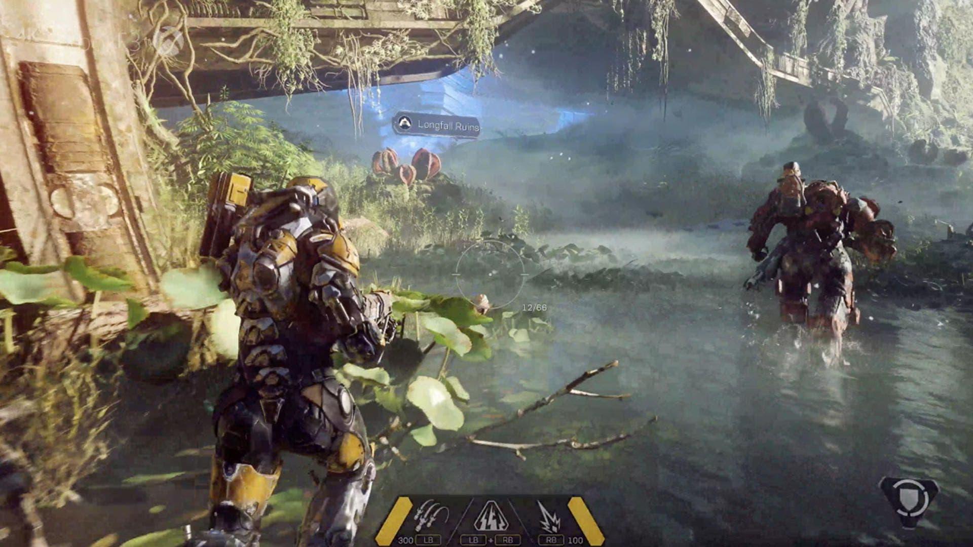 Anthem contará con varios niveles de dificultad 2