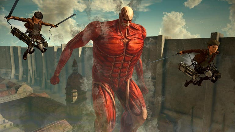 Attack on Titan 2 ofrecerá multijugador cooperativo para su campaña 1