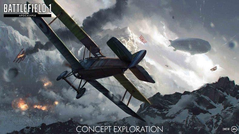 Battlefield 1 muestra un cruento tráiler de su nuevo DLC 1