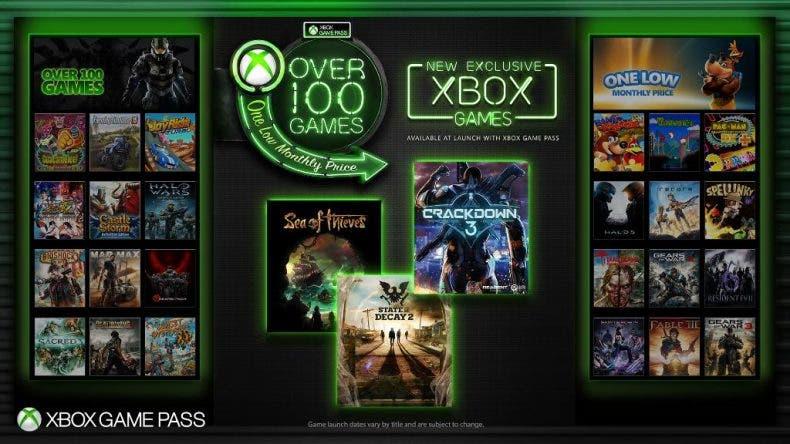 Xbox Game Pass contará con todos los exclusivos de Xbox desde el lanzamiento 1