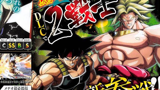Broly y Bardock llegarán a Dragon Ball FigtherZ vía DLC 1