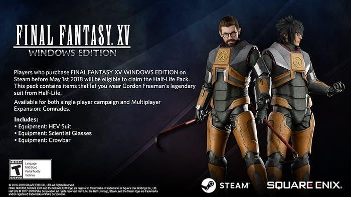 Anunciada la demo de Final Fantasy XV Windows Edition y los incentivos de reserva 1