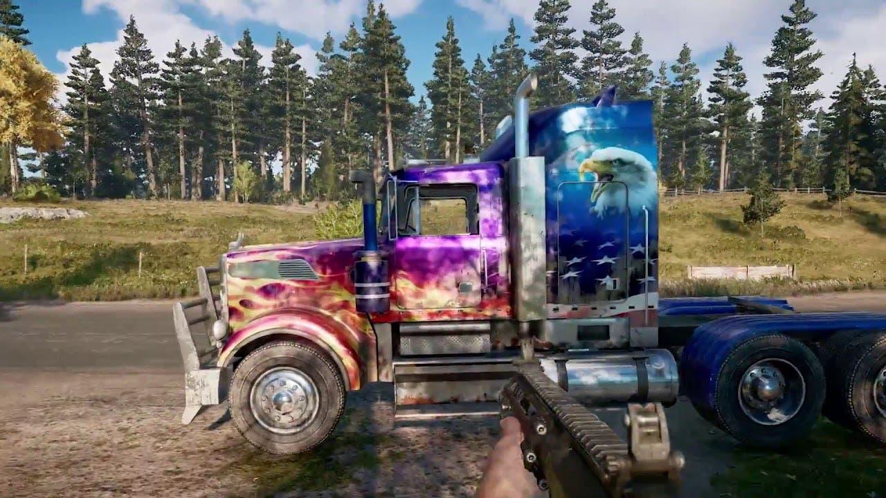 Descubre la personalización de vehículos en Far Cry 5 2