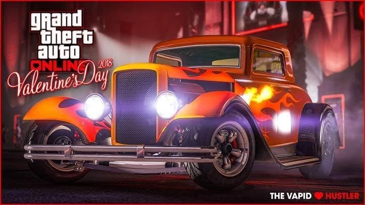 GTA Online celebra San Valentin con descuentos y un nuevo coche 1