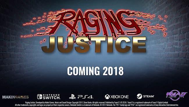 Se presenta Raging Justice, un beat'em up de recreativa clásica para Xbox One 1