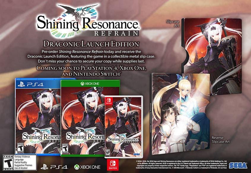 La remasterización de Shining Resonance Refrain confirma su llegada a Xbox One en occidente 2