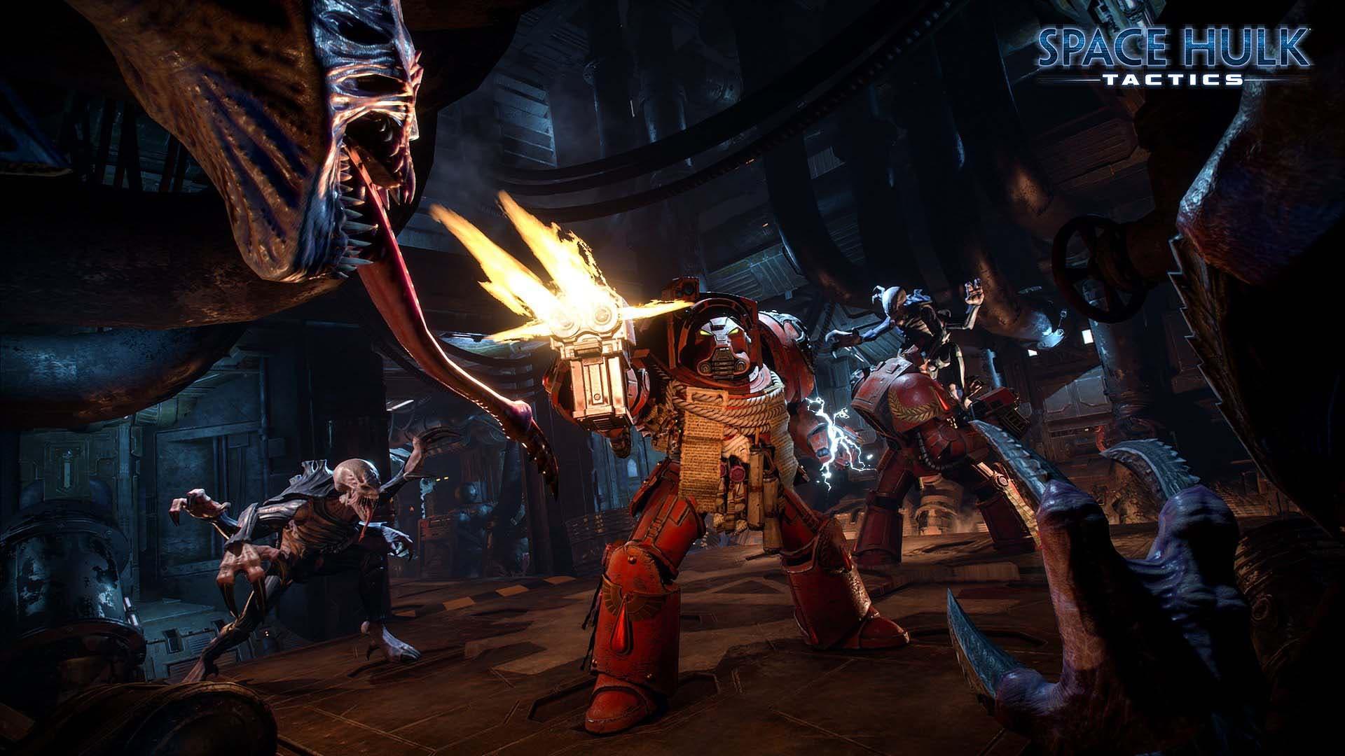 Se presenta Space Hulk:Tactics, estrategia ambientada en Warhammer 40k 2