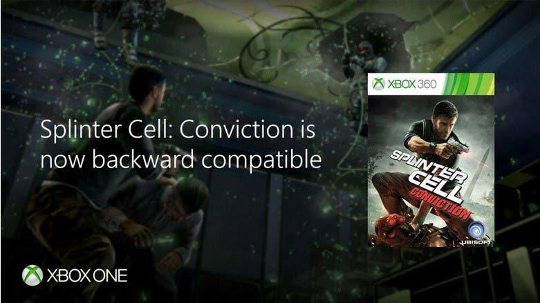 Splinter Cell llega a la retrocompatibilidad de Xbox One 2