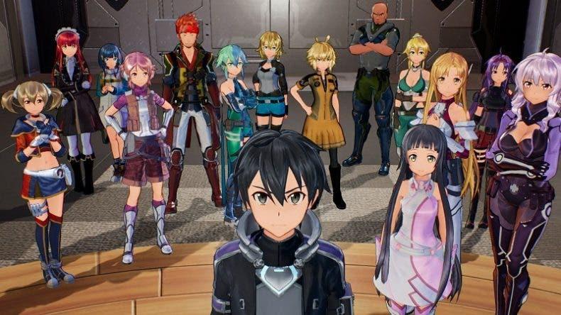La nueva historia para Sword Art Online: Fatal Bullet, protagonista del trailer de lanzamiento 1