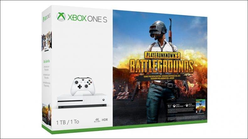 Llega el pack de Xbox One S con PUBG 1
