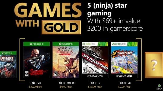 Un nuevo juego gratis se apunta a los Games With Gold del mes 1