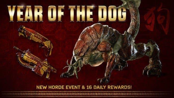 Así es el evento de Gears of War 4 que celebra el año nuevo chino 2