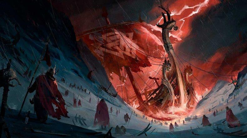Artwork del que podría ser un Assassin's Creed de vikingos 1