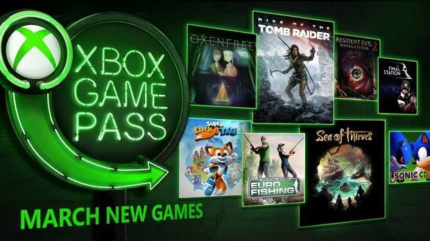 Desvelados todos los juegos que llegarán a Xbox Game Pass en marzo 2
