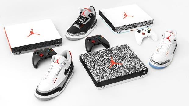 Xbox le rendirá homenaje a Michael Jordan con consolas customizadas como las Air Jordan