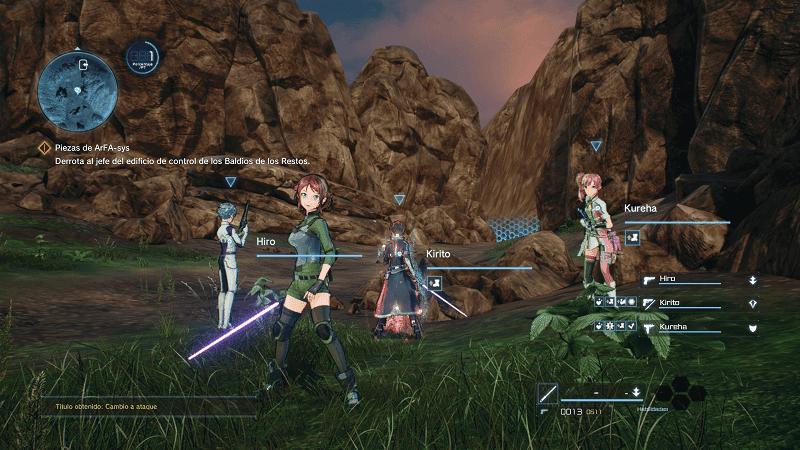 Análisis de Sword Art Online: Fatal Bullet - Xbox One 2