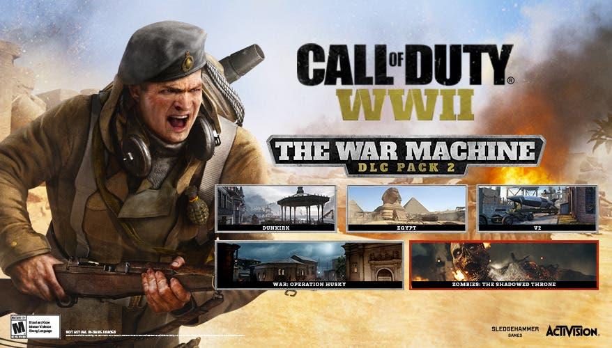 Detallada la próxima expansión de Call of Duty: WWII, The War Machine 2