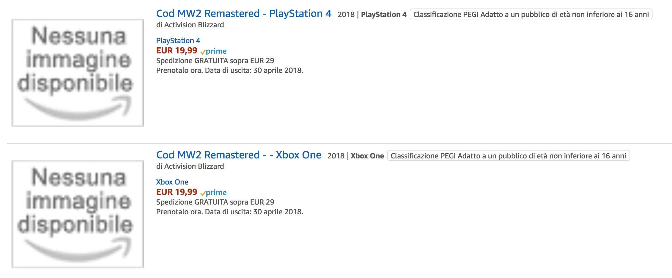 ¿Podría estar en camino la remasterización de Call of Duty: Modern Warfare 2? 2