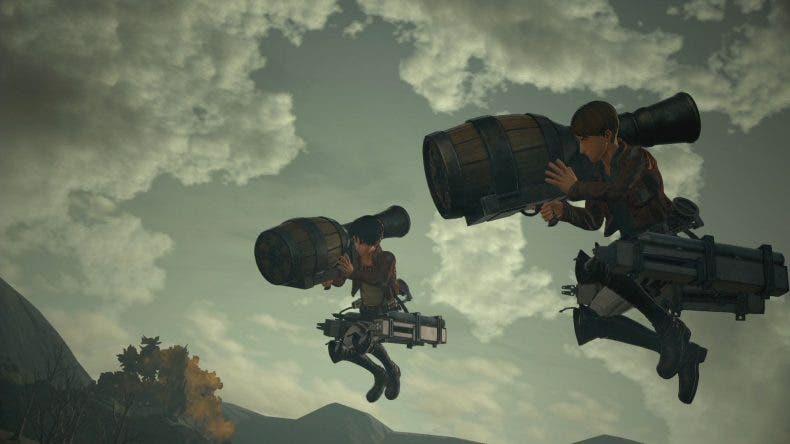 Nuevos trailers presentan la personalización y los combates de Attack on Titan 2 1