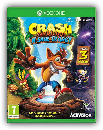 Vicarious Visions es la responsable de llevar Crash Bandicoot N. Sane Trilogy a Xbox One 2