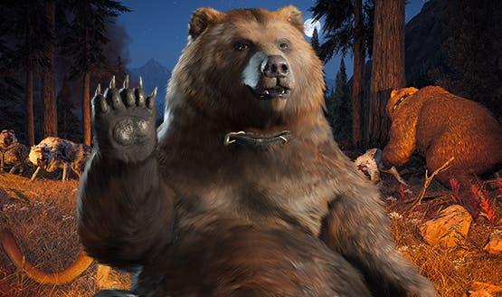 Si te parece poco el perro de Far Cry 5, podrás adoptar de mascota un oso 1