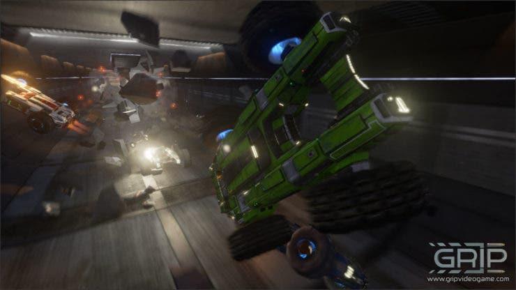 Descubre las carreras de combate en GRIP, que llegará a Xbox One este año 1