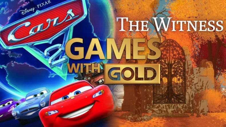 The Witness y Cars 2 disponibles gratis vía Games with Gold 1