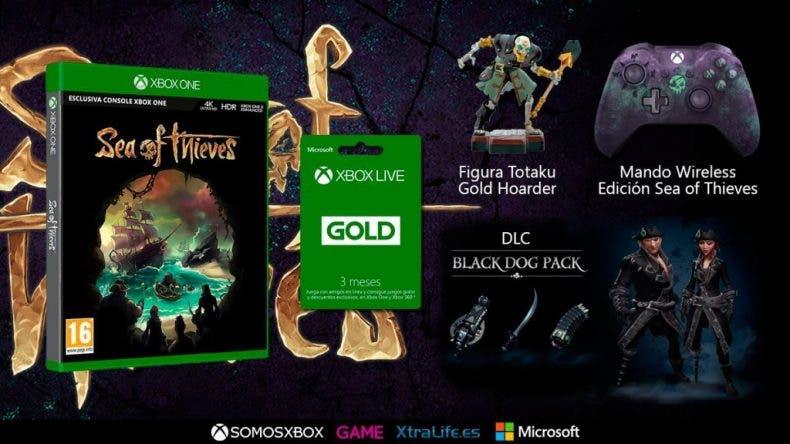 ¡Sorteazo especial Sea of Thieves! Regalamos el juego, el mando, una figura y 3 meses de Xbox Live 1