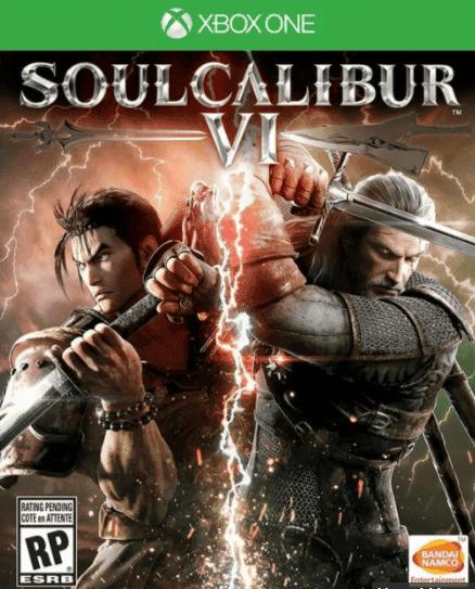 SoulCalibur VI nos presenta a Geralt de Rivia en su portada 2