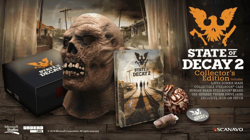 Anunciada la edición coleccionista de State of Decay 2 2