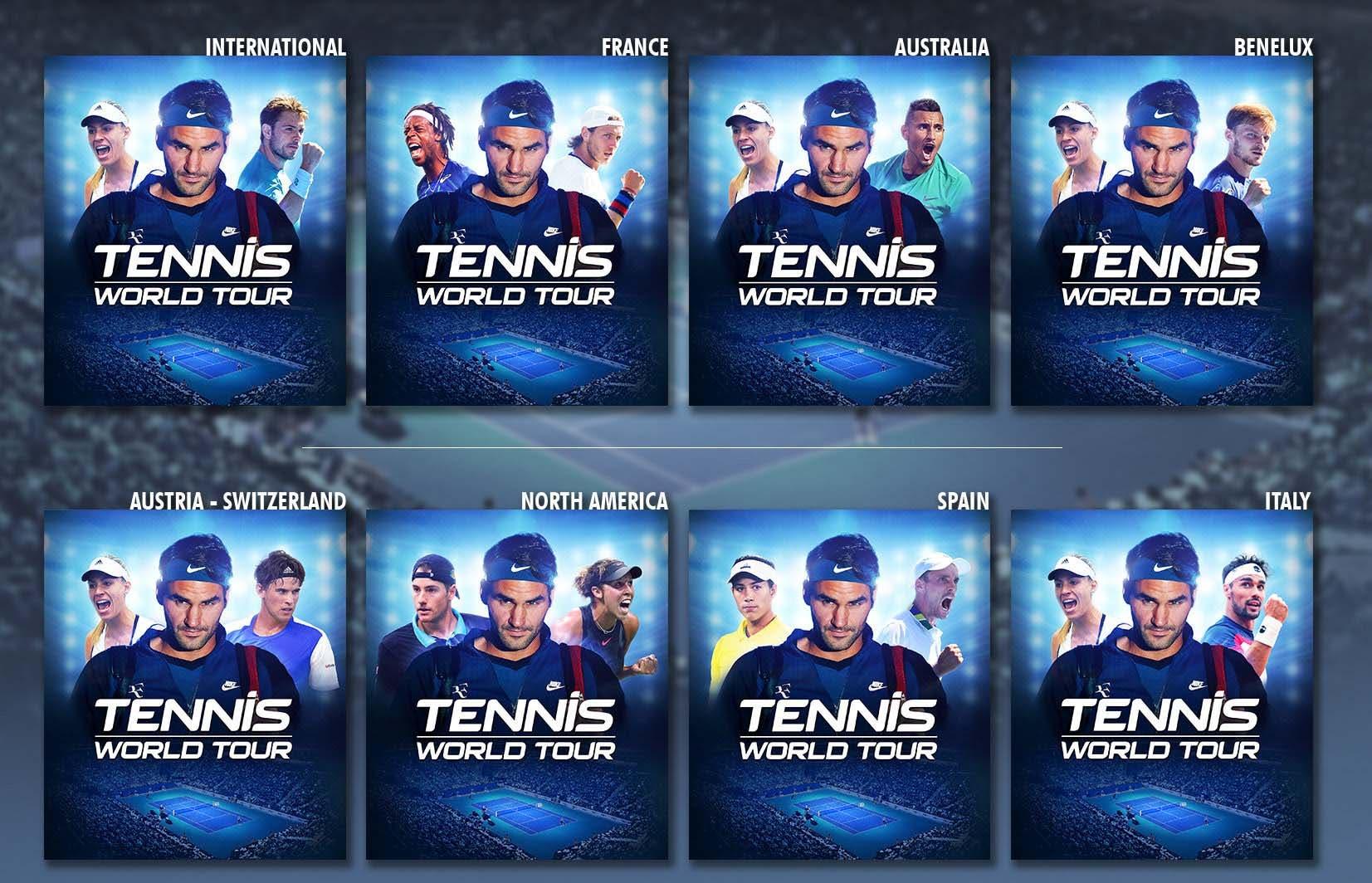 Tennis World Tour concreta su lanzamiento y presenta su portada para España 2